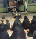 مراسم سوگواری اباعبدالله الحسین توسط دختران خوش حجاب ارومیه