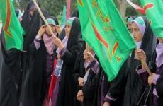 راهپیمایی حافظان حجاب شاهین شهر