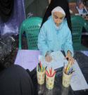 حضور مرکز حجاب ریحانه النبی (س) ارومیه در نمایشگاه به رنگ آسمان