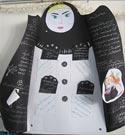 نمایشگاه آثار دختران خوش حجاب و نسیم عفاف در ساری