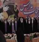 جشن حافظان حجاب و آیین چادر گزاری در ساری
