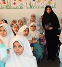 شروع به کار طرح ریحانه النبی در مدارس ساری