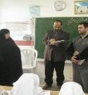 بازرسی از طرح ریحانه النبی توسط کارشناس آموزش و پرورش