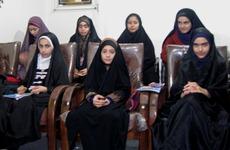 نشست ماهانه دختران خوش حجاب ساروی در سال جدید