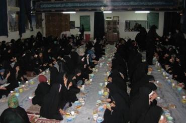 ضیافت افطاری شعبه ساری