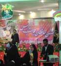 آیین چادرگذاری دختران حافظ حجاب در مشهد