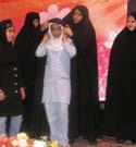 مراسم چادرگذاری ویژه حافظان حجاب طرح ریحانه النبی در ارومیه