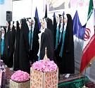 آیین چادرگذاری ۳۵۰ حافظ حجاب در کاشان