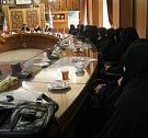 جلسه تقدیر از مربیان حجاب ریحانه النبی