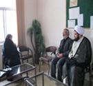 بازدید از مدارس ۱۰ گانه مجری طرح حجاب ریحانه النبی کاشان