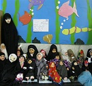 جشنواره حجاب عروسک ها طرح حجاب ریحانه النبی در اصفهان