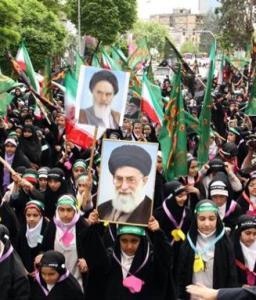 راهپیمایی حافظان حجاب
