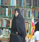 بازدید مسئول حراست آموزش و پرورش ناحیه ۴ از دفتر حجاب ریحانه النّبیّ علیها سلام