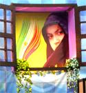 حضور دختران خوش حجاب کاشان در جشنواره بانوی مهر