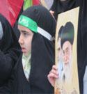 حضور دختران خوش حجاب ساری در راهپیمایی ۲۲ بهمن
