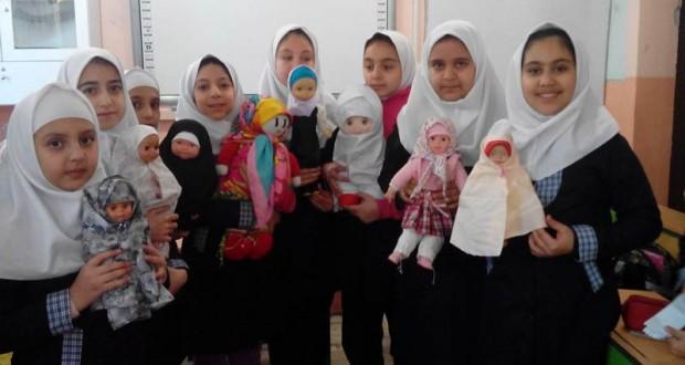 جشنواره حجاب عروسکها طرح ملی حجاب مدارس ناحیه یک ارومیه سال تحصیلی ۹۴