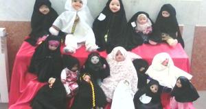 جشنواره حجاب عروسکها ونمایشگاه حجاب ریحانه النبی دهه فجر – قم ( ۲)