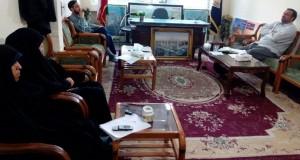 جلسه ارزیابی و آسیب شناسی راهپیمایی حافظان حجاب مشهد