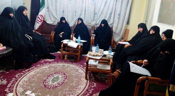 جلسه ی هماهنگی اعضای مرکز حجاب ریحانه النبی(س) شعبه مشهد