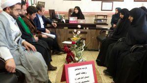 بازید مسئولین شعبه ارومیه از مدارس تحت پوشش طرح ملی حجاب - 96