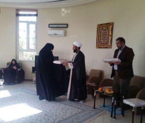 جلسه مربیان مرکز حجاب ریحانه النبی(س) شعبه مشهد در فضای اردویی