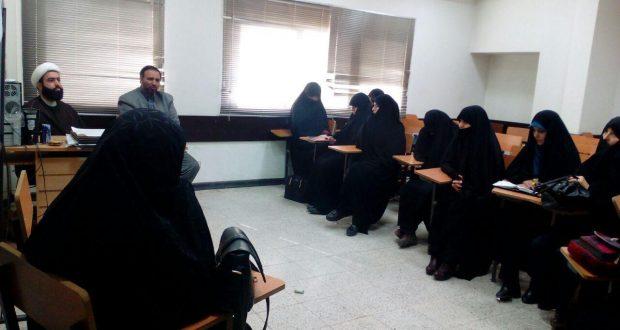 جلسه هم اندیشی مربیان حجاب شعبه مشهد با مسئول طرح ملی حجاب