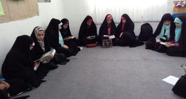 اختتامیه کلاس های طرح تابستانه مرکز حجاب ریحانه النبی(س) شعبه ساری