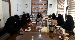 جلسه اموربانوان ارومیه با مسئول بسیج زنان