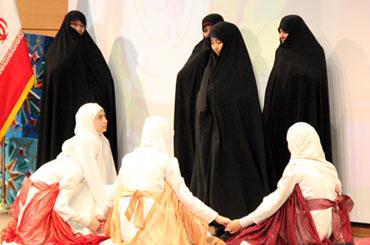 جشن حافظان حجاب در مشهد مقدس
