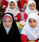 طرح حجاب ریحانه النبی ویژه مدارس در کاشان