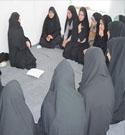 جلسه دختران عضو طرح ملی نسیم عفاف