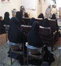 نشست مدیر مرکز حجاب ریحانه النبی با مربیان حجاب