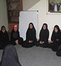 چهاردهمین جلسه دختران خوش حجاب مقطع راهنمایی