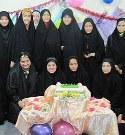 جشن ورودی های جدید نسیم عفاف ساری