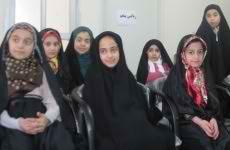 کلاس آموزش دختران خوش حجاب ساروی