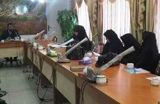 جلسه ارزیابی طرح ریحانه النبی در مشهد