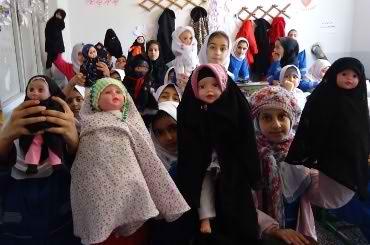 انتخاب عروسک های برتر جشنواره حجاب عروسک های ساری
