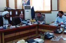 جلسه مشترک شورای شهر ساری و مرکز حجاب ریحانه النبی