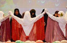جشن حافظان حجاب دختران ساروی