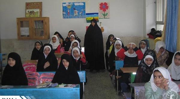 بازدید و سرکشی از مدارس مجری طرح حجاب