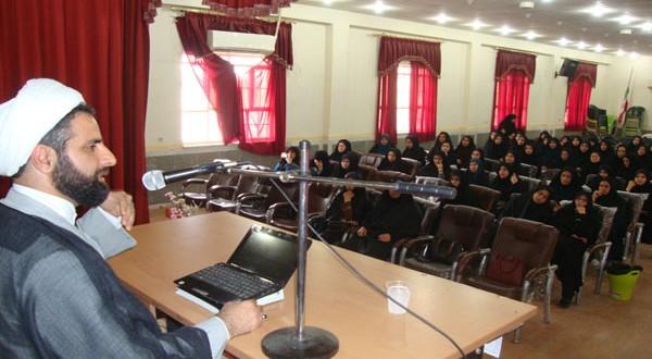 برگزاری کارگاه آموزش ترویج حجاب در شهرستان گتوند