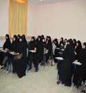 اولین جلسه توجیهی مربیان حجاب ریحانه النّبیّ علیها سلام در سال ۱۳۹۱