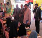 دیدار معاون استاندار و فرماندار محترم کاشان از نمایشگاه حجاب ریحانه النبی(س)