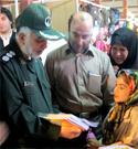 استقبال مسئولین از محصولات فرهنگی حجاب ریحانه النبی