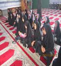 دومین نشست دختران خوش حجاب مقطع راهنمایی