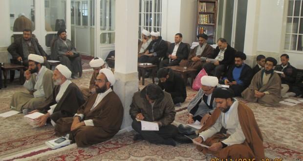 دومین جلسه دوره تربیت مبلغ حجاب