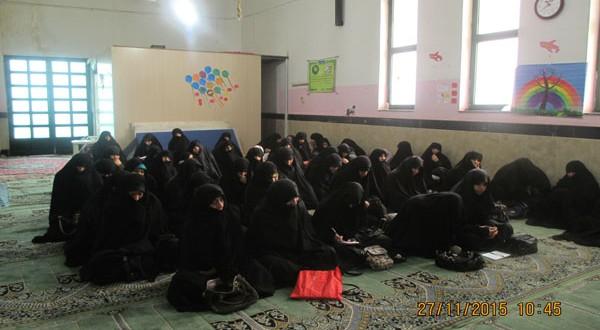 اولین جلسه کارگاه آموزشی ویژه مادران طرح خوش حجابی قم