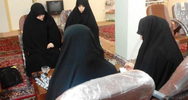 چهارمین جلسه دوره ی پنجم تربیت مبلغه حجاب در شعبه ارومیه