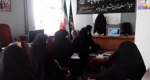 دهمین جلسه دوره ی دوم آموزش تخصصی مبلغه حجاب در شعبه ارومیه