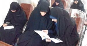 برگزاری سومین جلسه دوره پنجم تربیت مبلّغ حجاب ویژه خواهران طلبه
